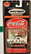 MATCHBOX COLLECTIBLES COCA COLA 1968 FORD MUSTANG COBRA JET