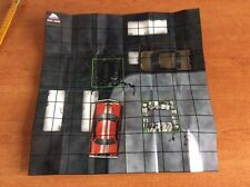 HeroClix DC Batman Alpha Map CRIMES SQUARE  MICRO DICE  MAPPA + MICRO DADI