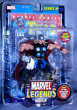 NEW in Box Marvel Legends Series 3 POSEABLE Thor 6+ 32 pg Comic Book Inside 2002