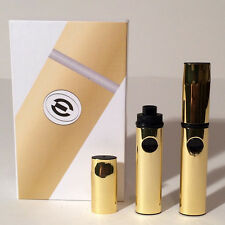 Portable Vaporizer-Pen Kit with Ceramic Rod Coils and 360mah Battery - Gold