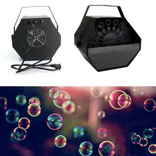 New Professional High Output Automatic Bubble Machine Make For DJ Party Kids