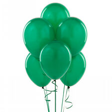 "144 Latex Balloons 12"" with Clips and Curling Ribbon - Green"