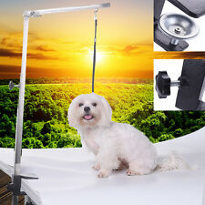 Pet Dog Foldable Grooming Arm Bracket Adjustable Clamp Loop for The Table