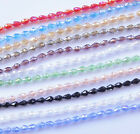 30PCS 12x8mm Teardrop Shape Tear Drop Glass Faceted Loose Crystal Beads