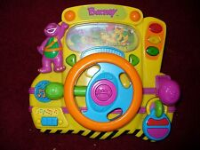 Barney Steering Wheel Driving Electronic Toy Driver Songs learning toy