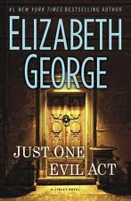 Just One Evil Act by Elizabeth George (2013, Hardcover)
