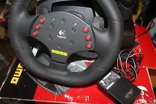Logitech Momo Force Feedback Racing Steering Wheel (PC and Mac) FOR PARTS