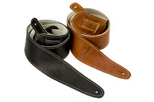 "FENDER BALL GLOVE LEATHER GUITAR STRAP 2.25""  2-PACK"