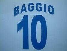 BAGGIO NOME+NUMERO UFFICIALE BRESCIA AWAY 2000-2001