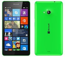 Brand New Nokia Lumia 535 Dual Sim 8GB Green Unlocked Windows Wifi Mobile Phone