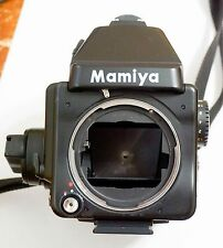 Mamiya 645E Medium Format Film SLR w/ GN401 winder and 120 Film Insert, Extras