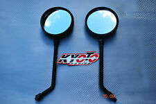 NEW A GRADE E MARKED PAIR UNIVERSAL 10MM MIRRORS MOTORBIKE MOTORCYCLE  BIKE