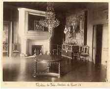 Château de Pau, Berceau d'Henri IV Vintage albumen print  Tirage albuminé