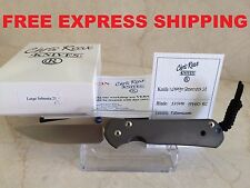 New Chris Reeve Knives Large Sebenza 21 S35VN Blade Titanium Handle (July 18)