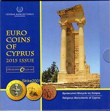 NEW !!! Euro CIPRO 2015 in Folder Ufficiale Zecca NEW !!!