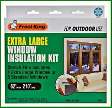 "* Frost King V95 Extra Large Window Insulattion Stretch Film Kit 62""x210"" NEW *"