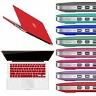 Rubberized Hard Case Keyboard Cover For MacBook Pro 13 Air 13 11 Pro 15 Retina