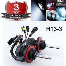 35W High/Low Beam HID Headlight Replacement Bulb H13 9008 8000K 8K Ice Blue K1