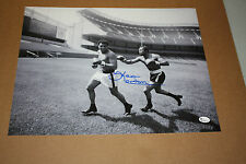 KEN NORTON SIGNED 11X14 PHOTO W/ALI AT YANKEE STADIUM ONLINE AUTHENTICS