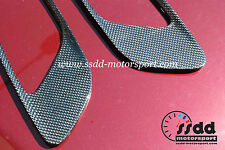 BMW E92 M3 E93 E90 M3 Carbon Fibre Bonnet Vents Trims 1x1 Weave UK Stock 1st P&P