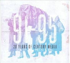 20 Years Of Century Media-1991-1995-Samael-GRAVE-Iced Earth-UNLEASHED-Cro-Mags