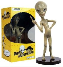 "Head Play BAD ALIEN ""PAUL"" Comedy Movie Figure Nude Middle Finger 22cm Figurine"