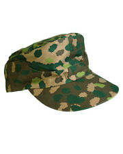 WH field cap M44 Erbsentarn Ticking Gr 59 Pea Dot Camouflage cap Armed forces