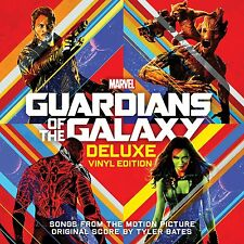 GUARDIANS OF THE GALAXY : SOUNDTRACK  (Deluxe LP Vinyl) sealed