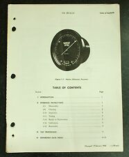 1968 Revised Kollsman Altimeter Setting Barometer Full Servicing Manual,  Copied