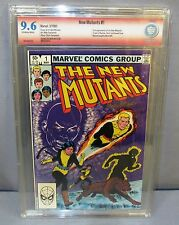 THE NEW MUTANTS #1 (Signed by Bob McLeod) CBCS 9.6 NM+ Marvel Comics 1983 cgc
