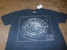 Captain America Mens Marvel Comics KO Blue Avengers T-Shirt  Size Large L