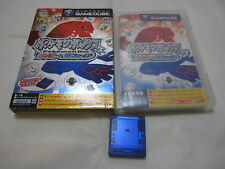 Game Cube Pokemon Box Ruby & Sapphire. Japanese Version. Memory Card. Limited 59