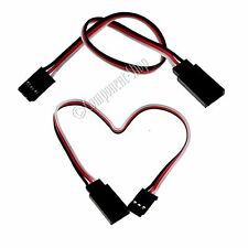2x 150mm Futaba light weight 26awg servo extension leads - UK seller