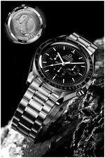 "OMEGA Speedmaster Last Man on Moon Watch Poster Art Print 16"" x 24"""