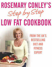 Step By Step Low Fat Cookbook, Conley, Rosemary Paperback Book