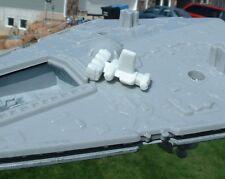 """1""""Blockade Runner DIECAST Imperial Star Destroyer Vintage Micro Collection Wars"""