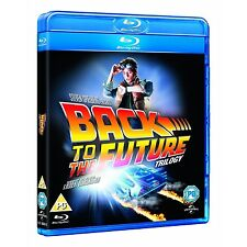 Back to the Future Trilogy Complete Series Parts 1 2 3 Box/BluRay Set Collection