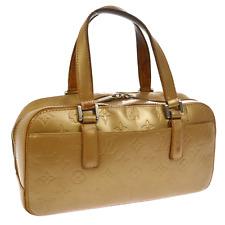 AUTHENTIC LOUIS VUITTON SHELTON HAND BAG PURSE AMBRE MONOGRAM MAT M55177 BT12288