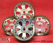 Adjustable Cam Gears 3000GT DOHC Camshaft Pulleys Set of 4 - DYNO PROVEN POWER