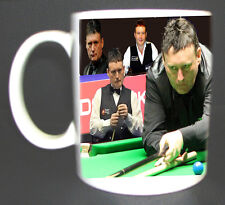 SNOOKER JIMMY WHITE LUCKY MUG.LIMITED EDITION, CUE, ETC GREAT GIFT