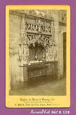 CDV BOURG (AIN) LE TOMBEAU DE MARGUERITE DE BOURBON DANS ÉGLISE DE BROU Réf B138