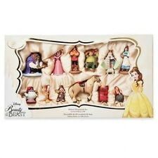 Disney's BEAUTY AND THE BEAST Deluxe Sketchbook Ornament Set of 12 - 25TH ANNIV.