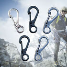 High Quality Sport Outdoor Mini Key Rings Gear Buckles Spring Paracord Carabiner