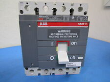 Used - ABB SACE S3 150 amp 400v A.C. Circuit Breaker