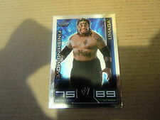 Carte - Catch  Topps Slam Attax 2008 - Smack Down - Umaga - Finishing Move
