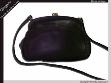BORSA DONNA VERA PELLE VINTAGE ANNI '70 WOMAN'S SHOULDER BAG GENUINE LEATHER V16