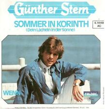 "2438-11  7"" Single: Günther Stern - Sommer in Korinth"