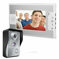 7 inch Video Monitor Night Vision Home Security Camera Door Phone Doorbell Inter