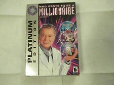 Who wants be Millionaire Platinum Ed PC GAMES 2004 Windows 95/98/Me-NEW/READ!