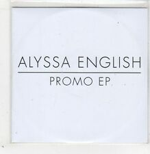 (GB586) Alyssa English, 5 track sampler - 2013 DJ CD